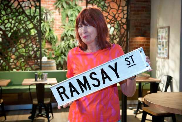Neighbours Janet Street-Porter cameo