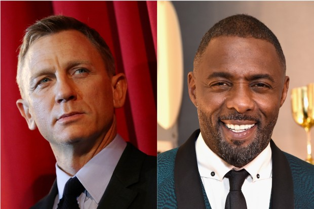 Daniel Craig and Idris Elba