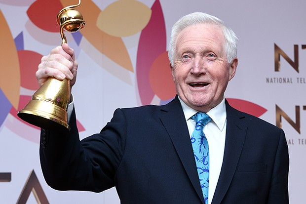 David Dimbleby at the NTAs