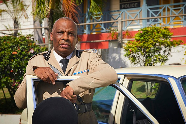 Don Warrington plays Commissioner Patterson in Death in Paradise