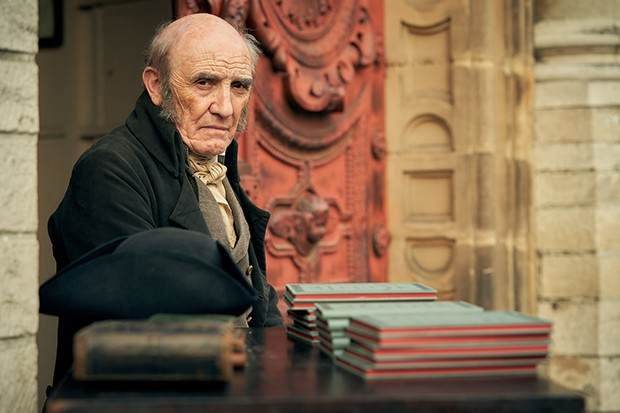Donald Sumpter plays Mabeuf in Les Miserables