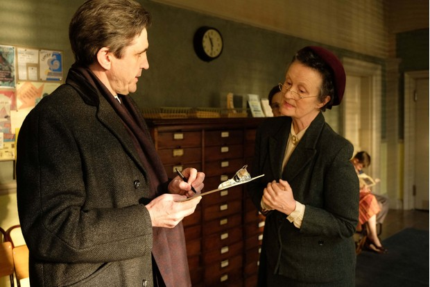 Dr Turner and Miss Higgins in Call the Midwife
