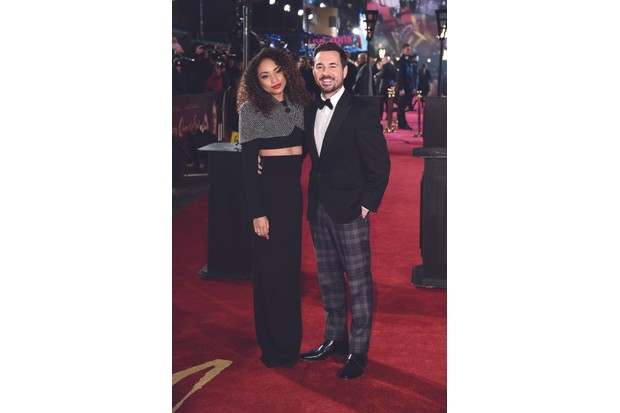 LONDON, ENGLAND - DECEMBER 10: Tianna Chanel Flynn and Martin Compston attends the European Premiere of Mary Queen of Scots at Cineworld Leicester Square on December 10, 2018 in London, England. (Photo by Eamonn M. McCormack/Eamonn M. McCormack/Getty Images for Universal Pictures)
