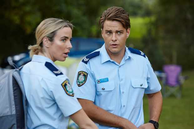 Home and Away, Chelsea Campbell, Colby Thorne