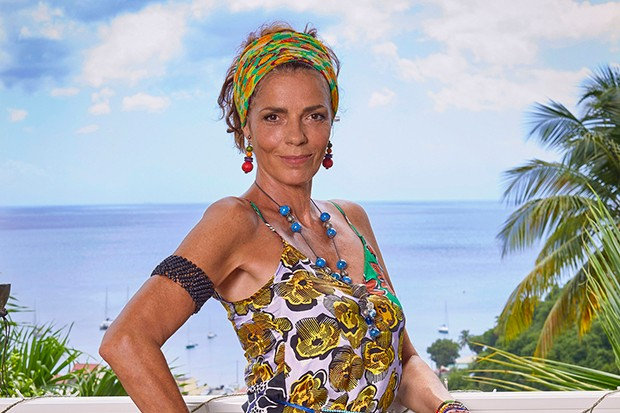 Elizabeth Bourgine plays Catherine Bordey in Death in Paradise