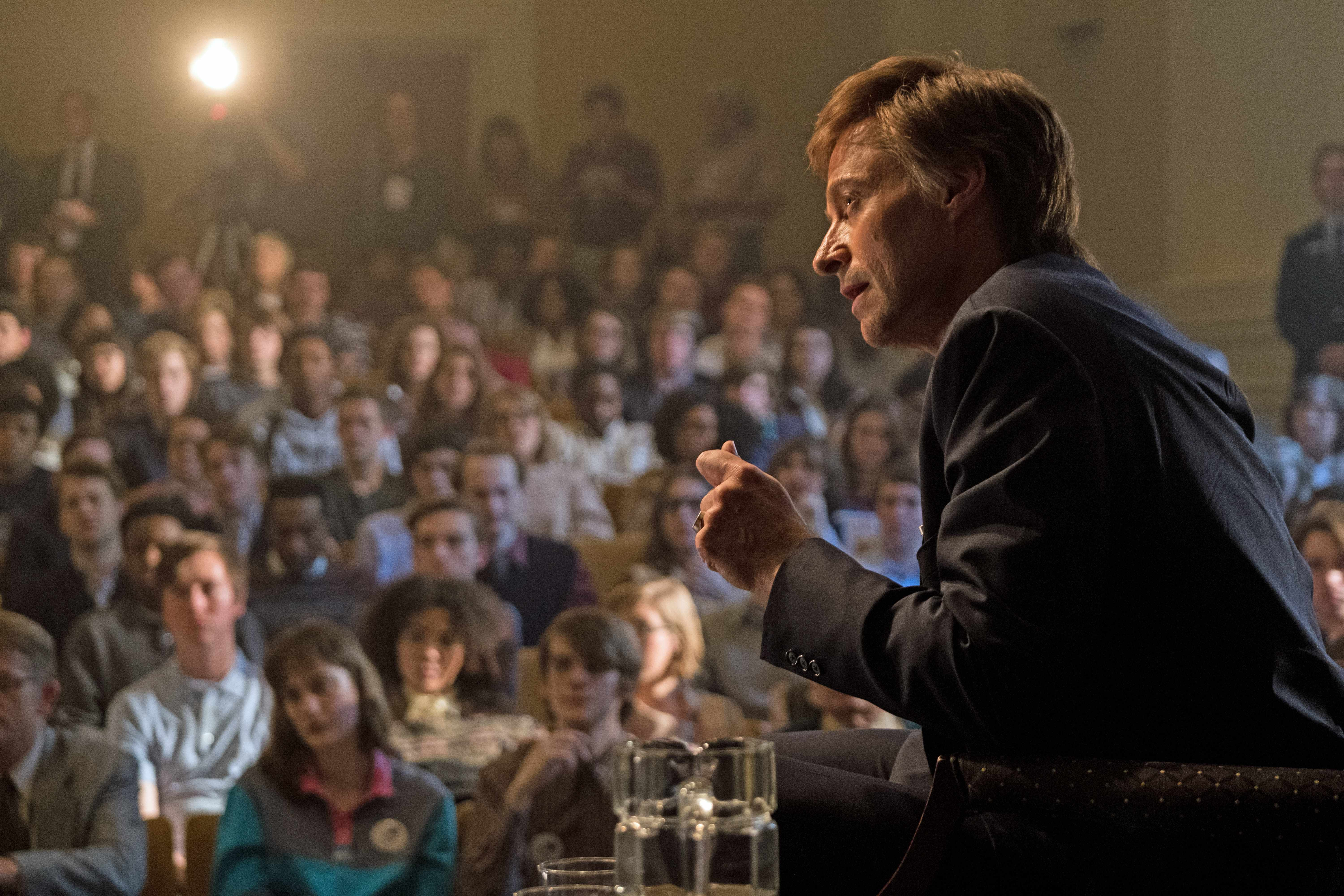 Hugh Jackman stars in Columbia Pictures' THE FRONT RUNNER.