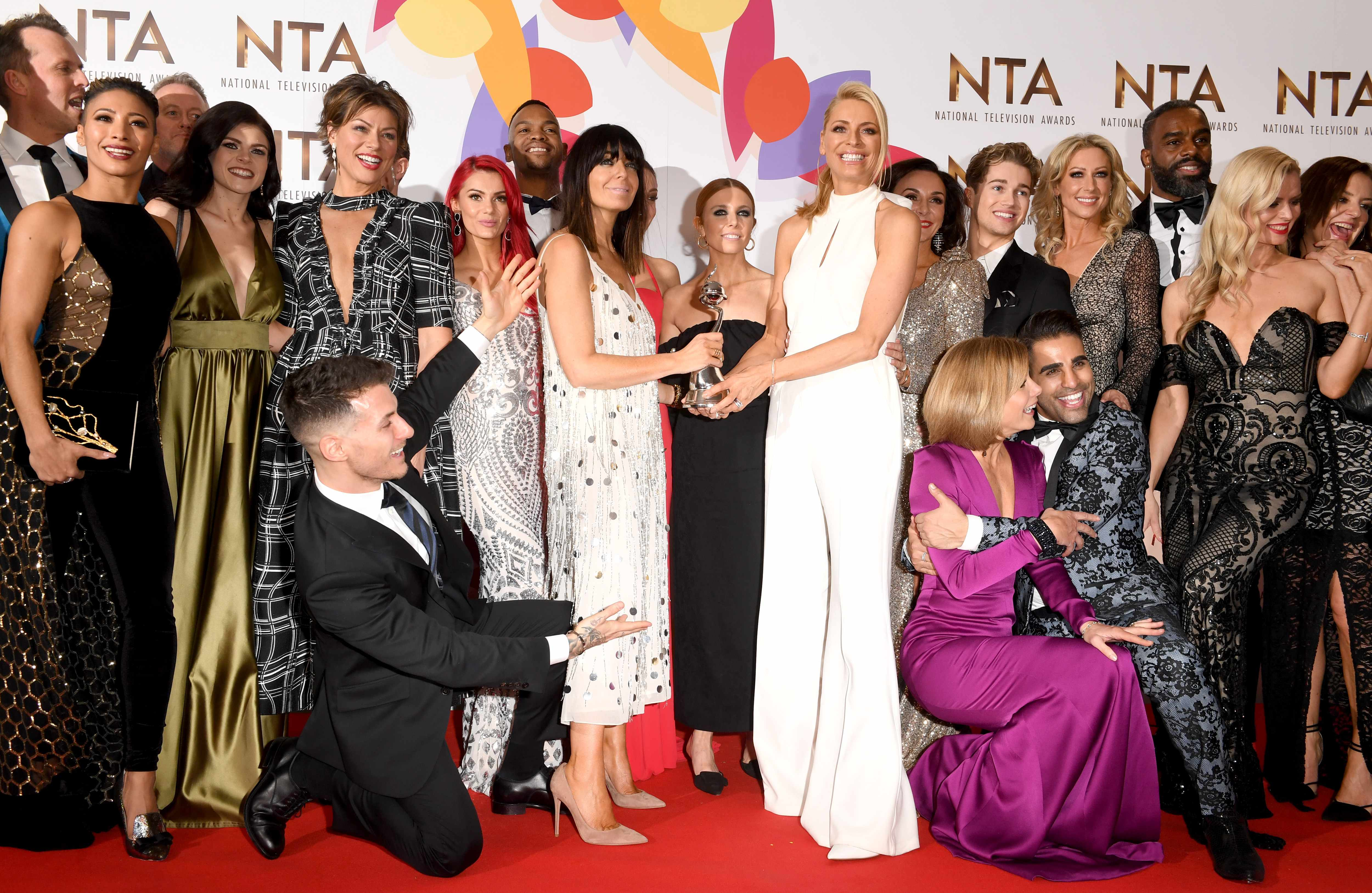 National Television Awards 2019 - Winners Room