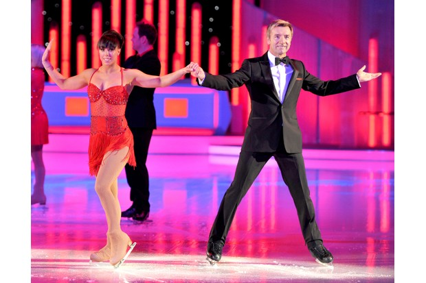 Beth Tweddle and Christopher Dean in Dancing on Ice