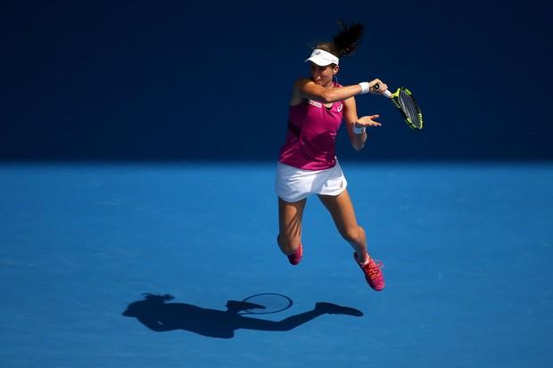 Johanna Konta at the 2016 Australian Open (Getty)