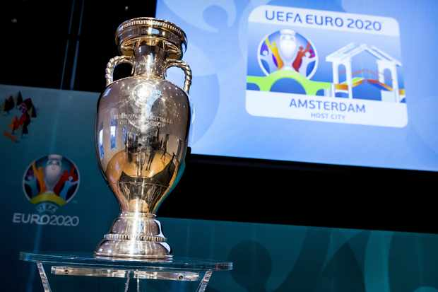 Image result for trophy euro 2020