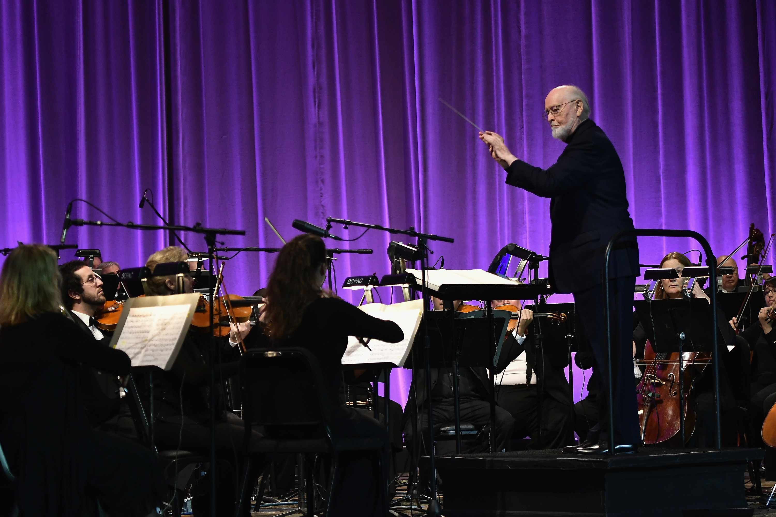 ORLANDO, FL - APRIL 13:  John Williams attends the Star Wars Celebration Day 1 on April 13, 2017 in Orlando, Florida.  (Photo by Gustavo Caballero/Getty Images)