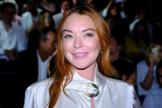 Lindsay Lohan - Madrid Fashion Week