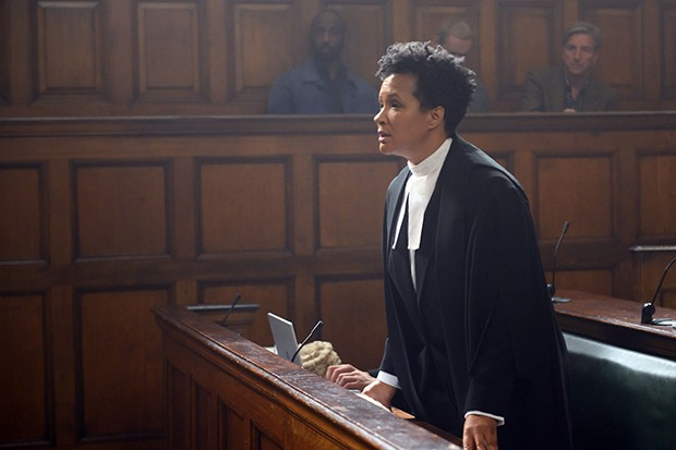 Golda Rosheuvel plays Barrister Lyndsey Morrison in Silent Witness
