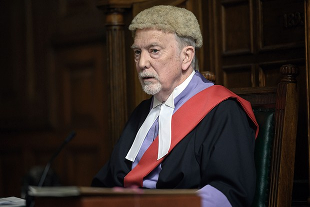Gregory Floy plays Judge Henderson in Silent Witness