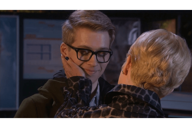 Hollyoaks spoilers! Alfie Nightingale confronted his dad Mac