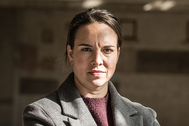 Ingrid Oliver plays DI Briggs in Silent Witness