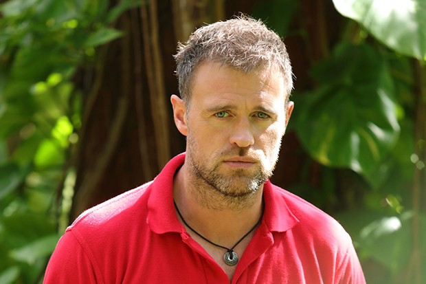 Jonas Armstrong plays Dylan Shepherd in Death in Paradise