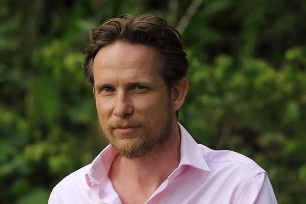 Jonathan Kerrigan plays Xander Shepherd in Death in Paradise