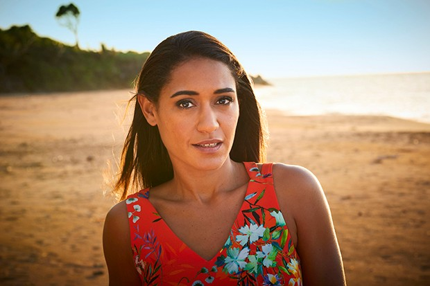 Joséphine Jobert plays DS Florence Cassell in Death in Paradise