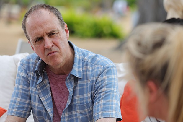 Kevin Doyle plays Terry in Death in Paradise