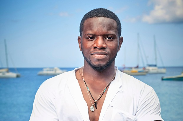 Leemore Marrett Jr. plays Florence's boyfriend Patrice Campbell in Death in Paradise