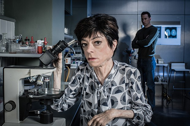 Liz Carr plays Clarissa Mullery in Silent Witness