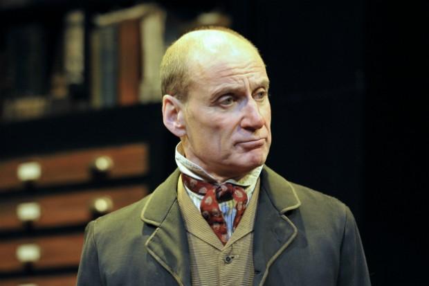 Michael Feast plays Leonard Sidden in Vera