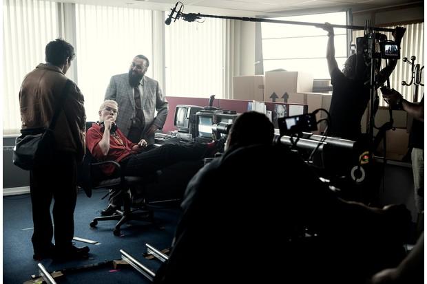 Behind the scenes on Black Mirror: Bandersnatch (Netflix)