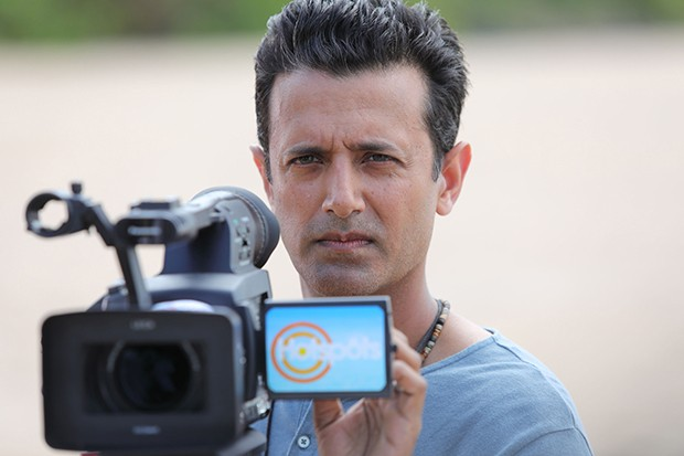 Navin Chowdhry plays Andy in Death in Paradise