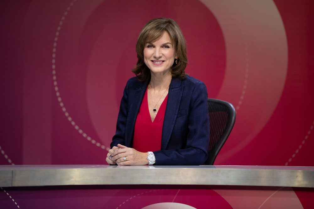 Fiona Bruce, Question Time (BBC)