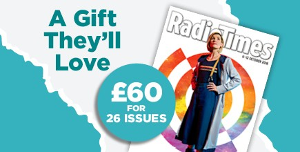 Radio Times Magazine Subscription Gift