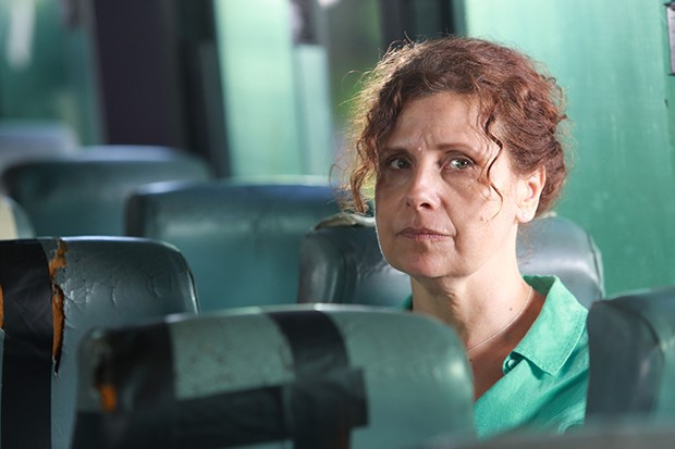 Rebecca Front plays Fiona Tipton in Death in Paradise