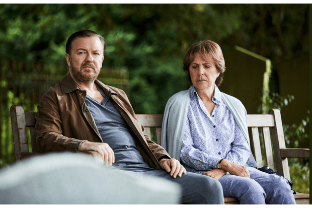 Ricky Gervais, After Life (Netflix)