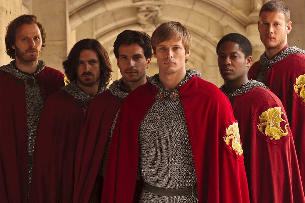 The cast of Merlin (BBC)