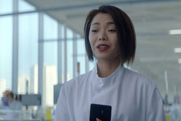Yennis Cheung plays Jenna Hong in Silent Witness