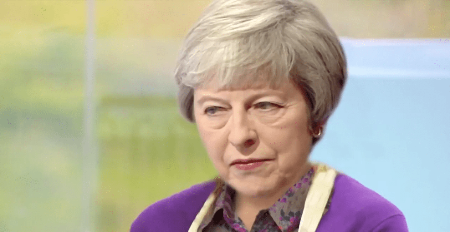 Daily Show - Theresa May on the Great British Bake Off