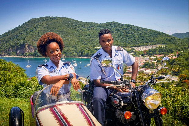 Shyko Amos Death in Paradise newcomer