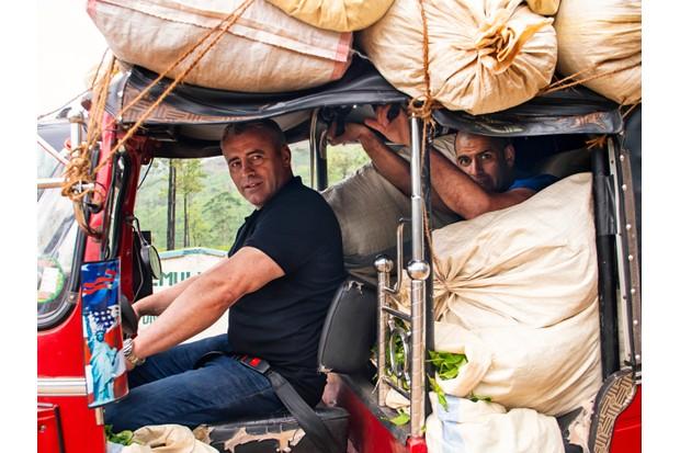 Picture Shows: Matt LeBlanc and Chris Harris in a tuk-tuk