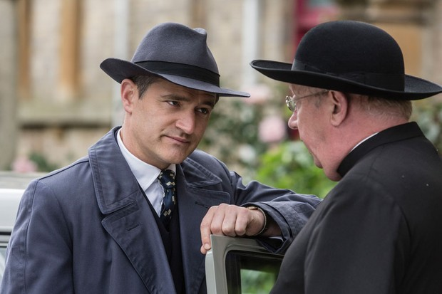 Who plays Father Brown (Mark Williams), Bunty (Emer Kenny