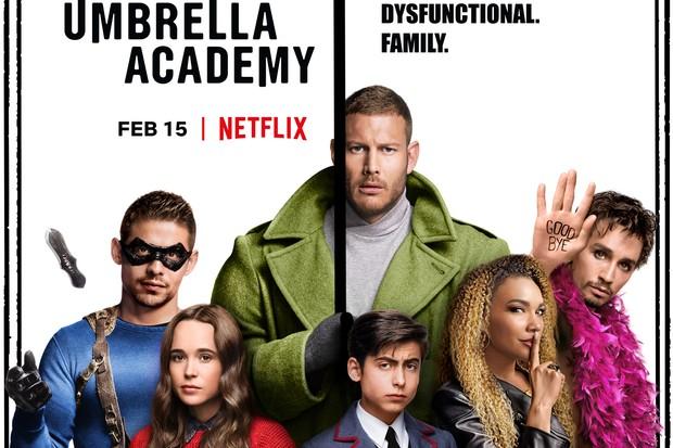 Umbrella Academy Netflix poster