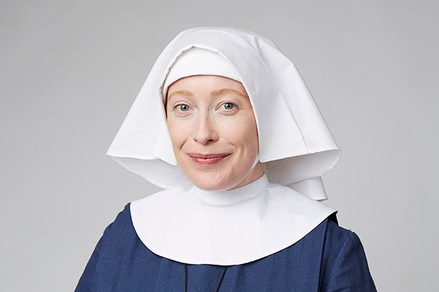 Victoria Yeates plays Sister Winifred in Call the Midwife