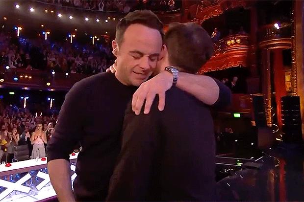 Ant and Dec, ITV Screengrab