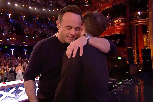 Ant and Dec, ITV Screengrab