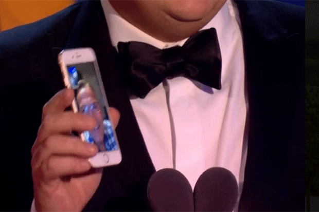 Bradley Walsh FaceTime, ITV screengrab