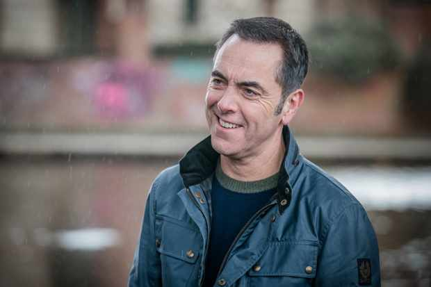 This image is strictly embargoed until 00.01 Tuesday 8th January 2019  From Big Talk Productions  Cold Feet: SR8: Ep1 on ITV  Pictured: Adam [James Nesbitt].  This photograph is (C) Big Talk and can only be reproduced for editorial purposes directly in connection with the programme or event mentioned above, or ITV plc. Once made available by ITV plc Picture Desk, this photograph can be reproduced once only up until the transmission [TX] date and no reproduction fee will be charged. Any subsequent usage may incur a fee. This photograph must not be manipulated [excluding basic cropping] in a manner which alters the visual appearance of the person photographed deemed detrimental or inappropriate by ITV plc Picture Desk.  This photograph must not be syndicated to any other company, publication or website, or permanently archived, without the express written permission of ITV Picture Desk. Full Terms and conditions are available on the website www.itv.com/presscentre/itvpictures/terms  For further information please contact: james.hilder@itv.com / 0207 157 3052