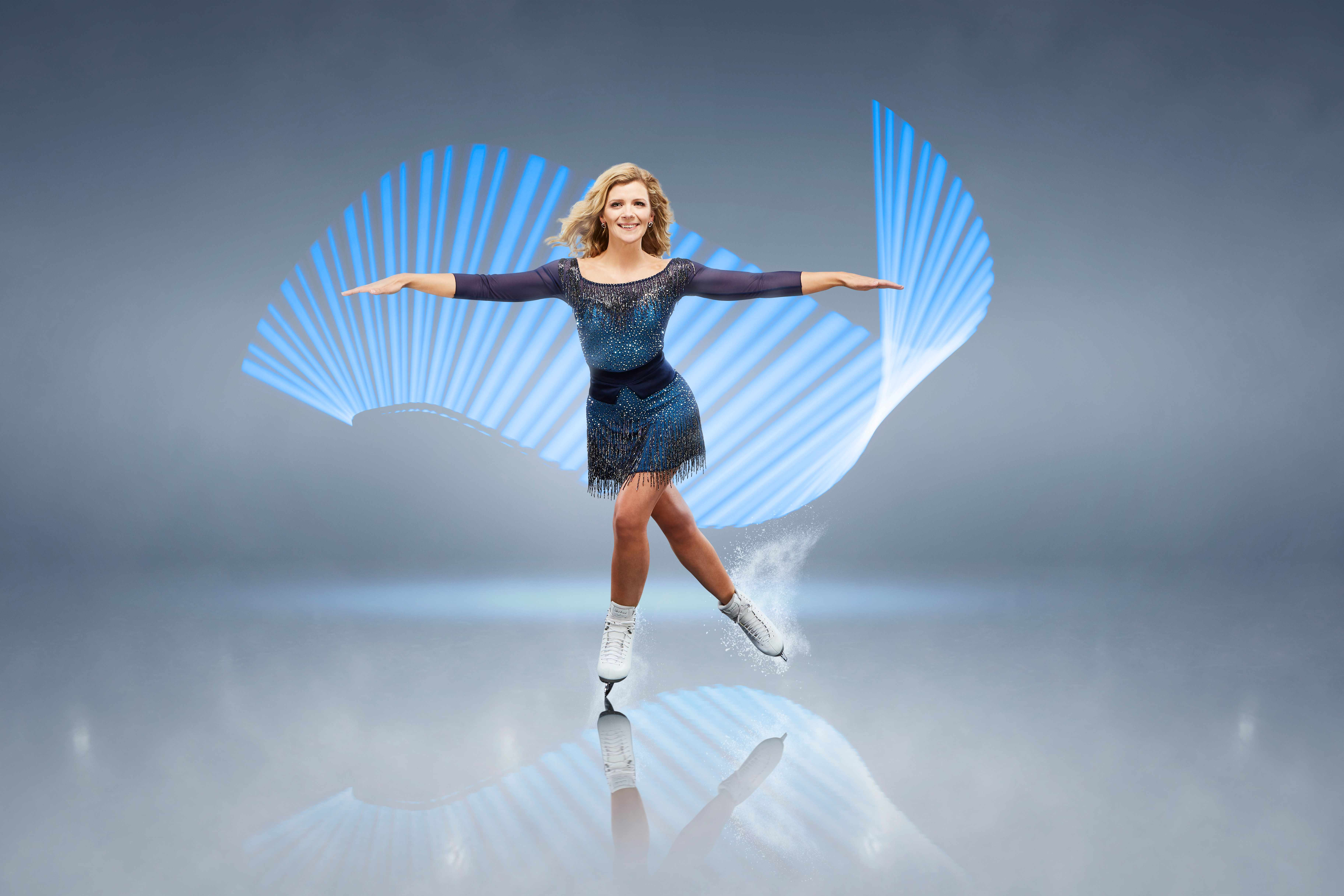Dancing on Ice Jane Danson (ITV)