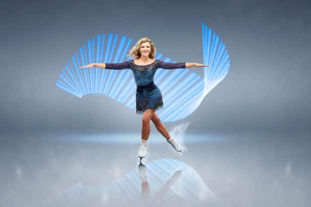 Dancing on Ice Jane Danson (ITV)
