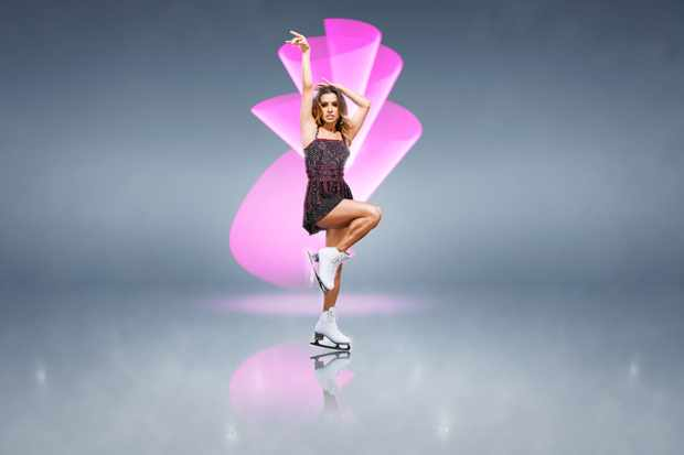 From ITV Studios  Dancing On Ice: SR11 on ITV  Pictured: Melody Thornton.  This photograph is (C) ITV Plc and can only be reproduced for editorial purposes directly in connection with the programme or event mentioned above, or ITV plc. Once made available by ITV plc Picture Desk, this photograph can be reproduced once only up until the transmission [TX] date and no reproduction fee will be charged. Any subsequent usage may incur a fee. This photograph must not be manipulated [excluding basic cropping] in a manner which alters the visual appearance of the person photographed deemed detrimental or inappropriate by ITV plc Picture Desk.  This photograph must not be syndicated to any other company, publication or website, or permanently archived, without the express written permission of ITV Picture Desk. Full Terms and conditions are available on the website www.itv.com/presscentre/itvpictures/terms  For further information please contact: james.hilder@itv.com / 0207 157 3052