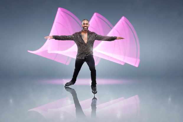 Richard Blackwood Dancing on Ice (ITV)