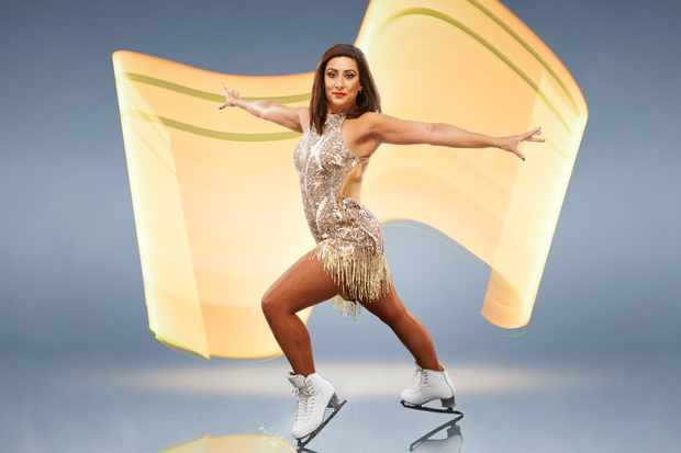 Saira Khan, Dancing on Ice (ITV)